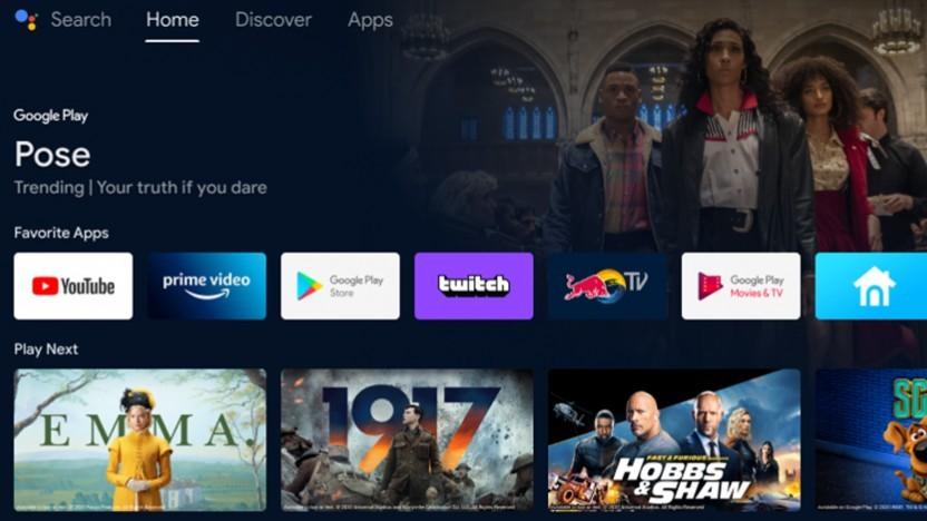 Neue Oberfläche für Android-TV-Geräte kommt.