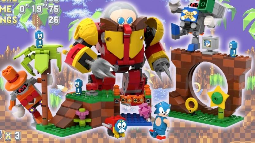 Lego bringt zum 30. Geburtstag von Sonic ein eigenes Set.