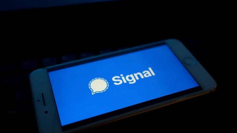 Signal ist im Iran derzeit nicht nutzbar.