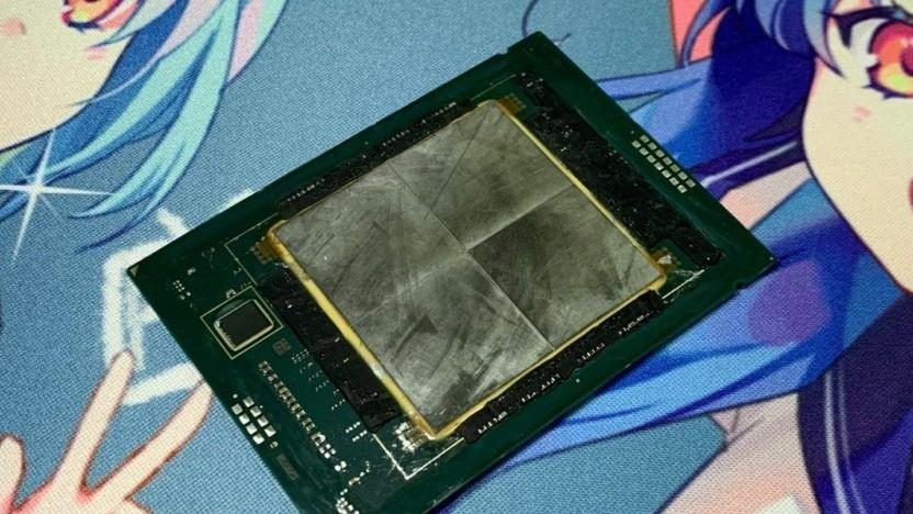 SPR-Xeon mit vier Chiplets
