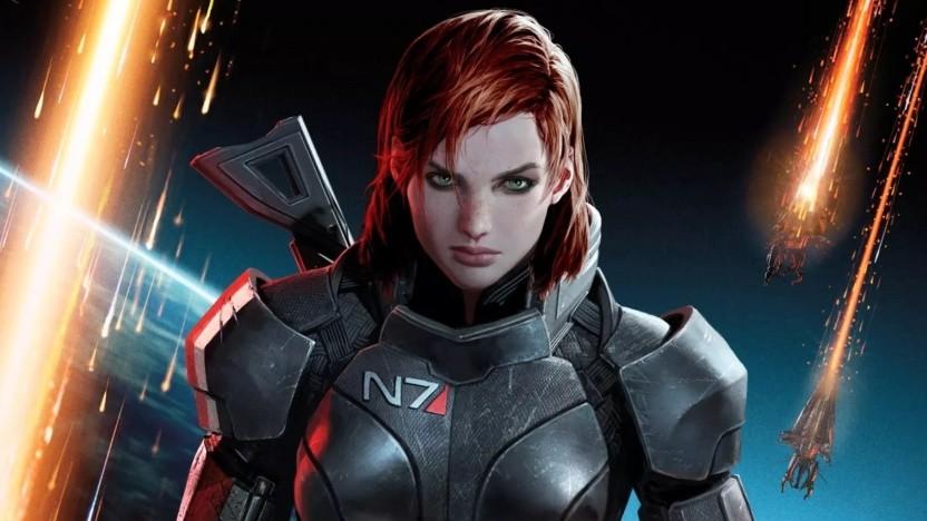 """Artwork von Fem Shepard""""in Mass Effect"""