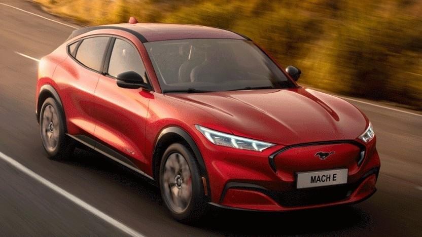 Elektroauto Ford Mustang Mach-E