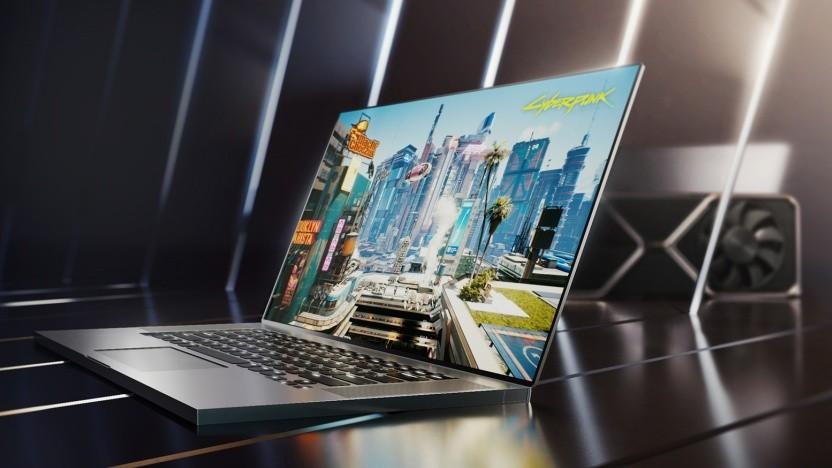 Gaming-Laptop mit Geforce RTX 3000