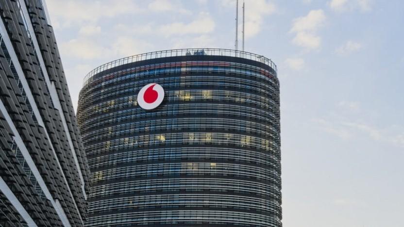 Der Hauptsitz von Vodafone