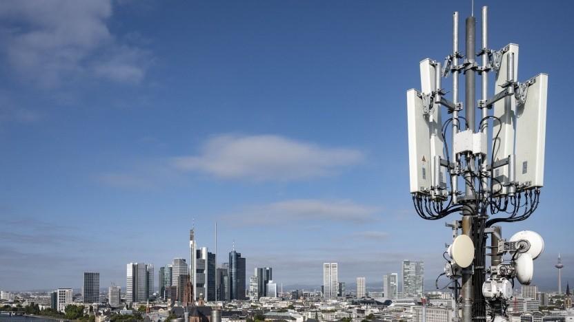 5G-Antenne in Frankfurt am Main