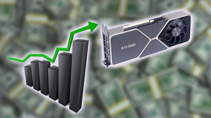 Die Nvidia-Ampere-GPUs werden immer teurer.