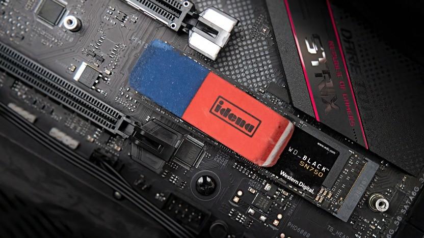 Radiergummi und SSD vereint <3