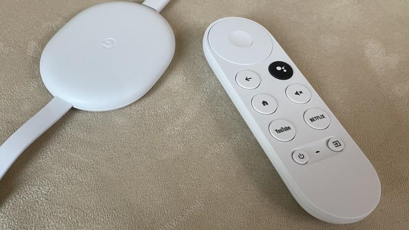 Googles Chromecast mit Google TV erhält ein Update.