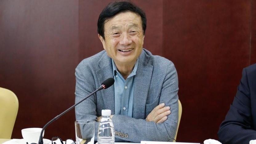 Huawei-Gründer Ren Zhengfei am 9. Februar 2021