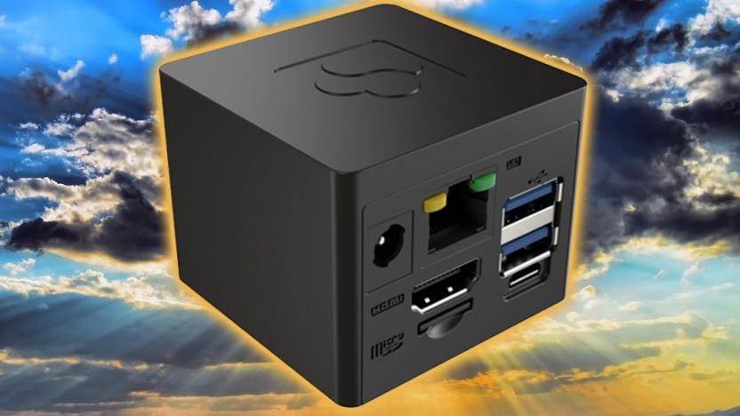 Die Cubox-M ist eine kleine Desktopmaschine.