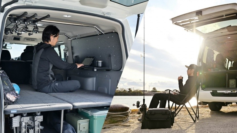 Nissan x Ogushow NV350 Caravan ES Mobility Concept: Konzeptfahrzeug für Workation