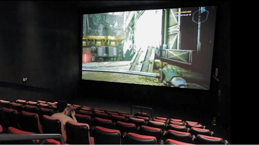Gaming im Kinosaal