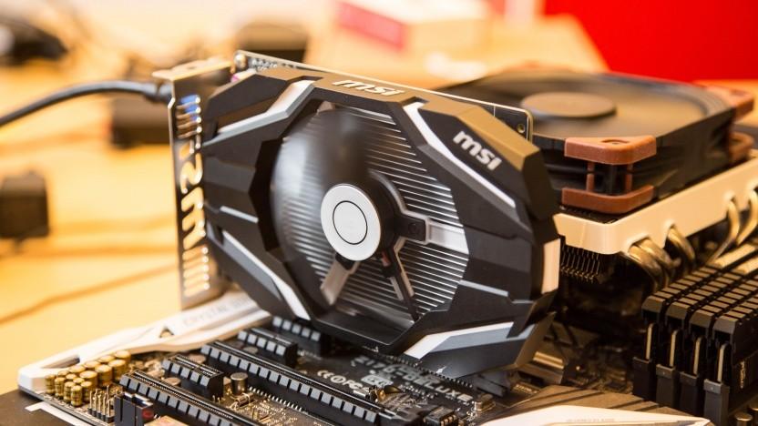 Geforce GTX 1050 Ti von MSI