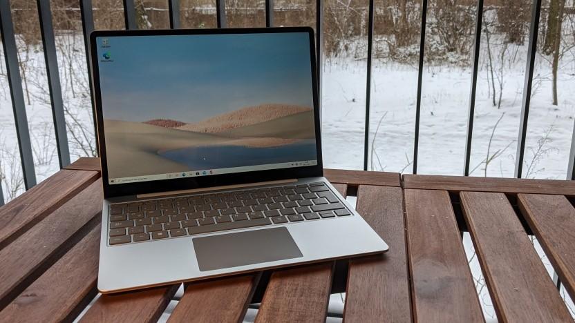 Der Surface Laptop Go ist der kleinste Clamshell-Laptop von Microsoft.