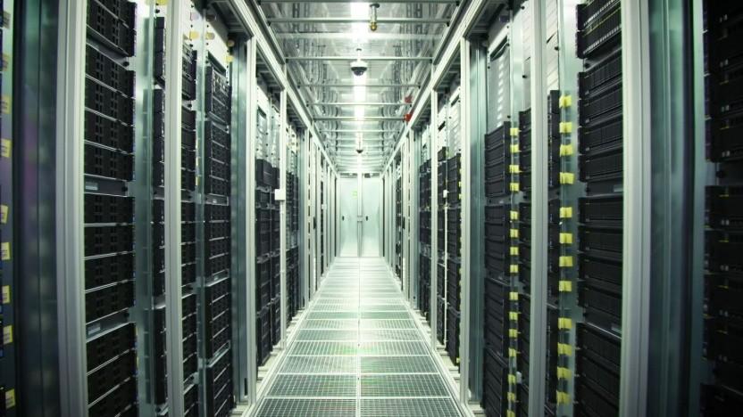 Huawei-Server im Rechenzentrum Biere 2 der Telekom