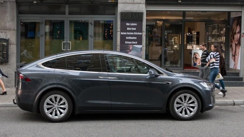Tesla Model X: fehlende Grundierung