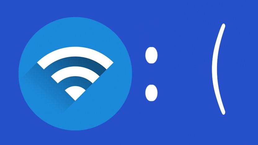 Ein Bluescreen nach dem Verbinden von Windows 10 mit einem WPA3-Netzwerk.
