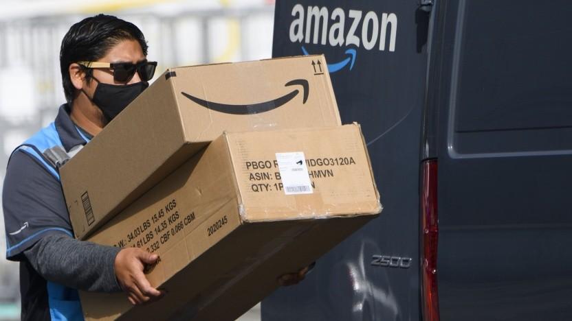 Amazon-Fahrer in den USA