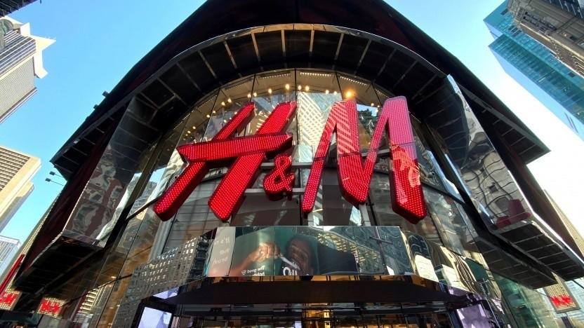H&M hält den Bußgeldrekord für 2020.