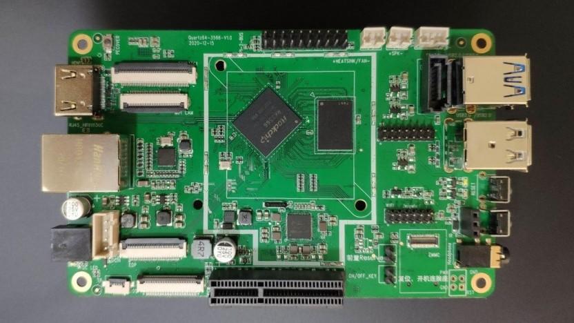 Das Quartz64 soll das neue Einstiegsmodell der Pine64-Community werden.