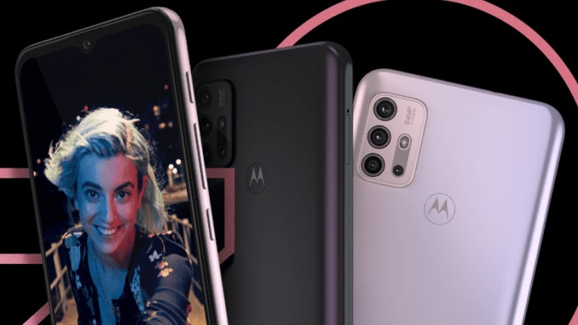 Das Moto G30 von Motorola