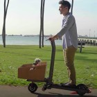 Mimo C1: E-Scooter soll Lastentransporter in der Großstadt werden