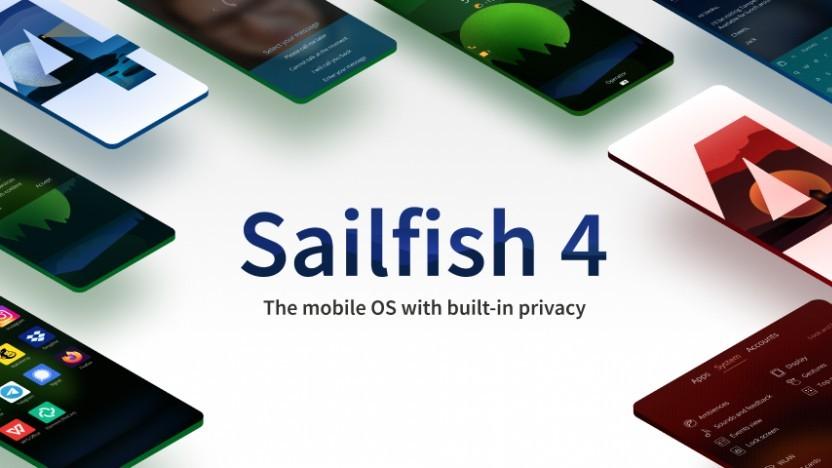 Sailfish 4 wird verteilt.
