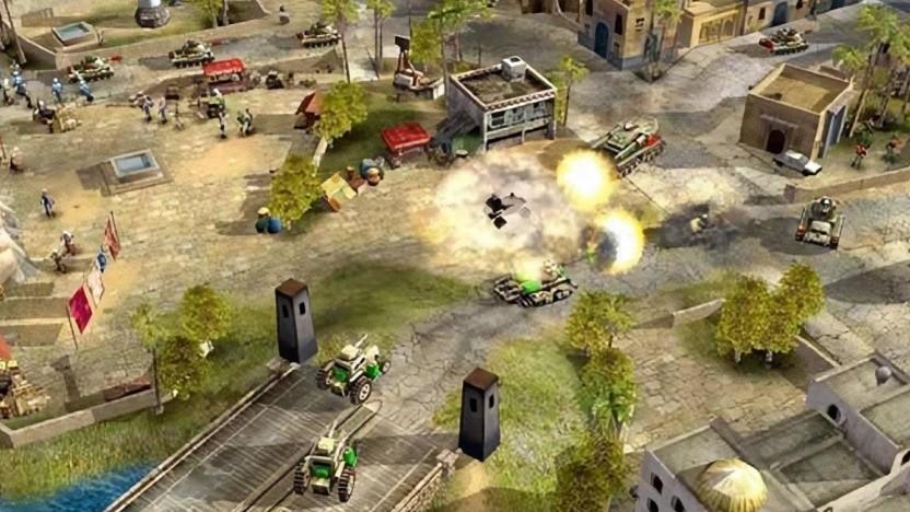 Artwork von C&C Generals (2003)