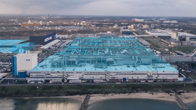 Das Werk in Köln-Niehl soll ab 2023 die Elektroautos bauen.