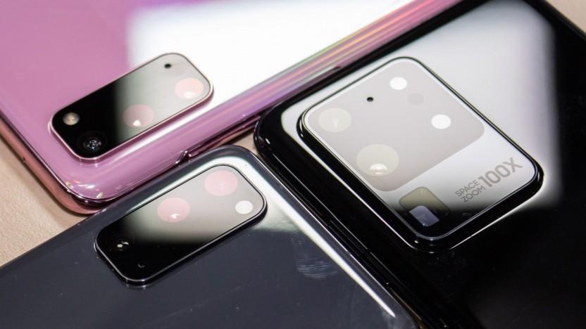 Unter anderem bekommt das Galaxy S20 neue Kamerafunktionen.