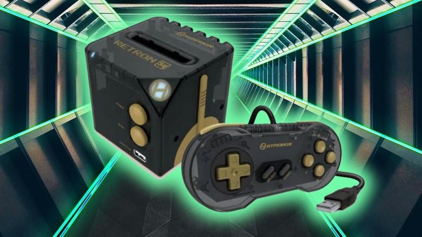 Der Retron Sq sieht ein wenig aus wie der Nintendo Gamecube.