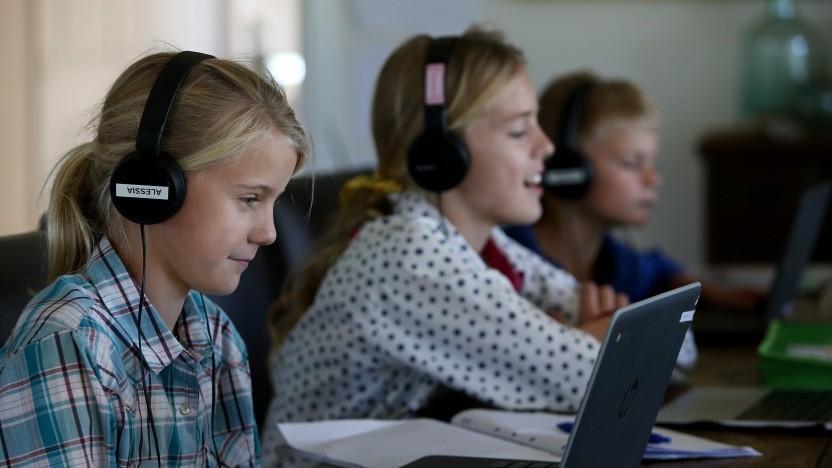 Viele Schulen nutzen für den Fernunterricht Microsoft Teams.