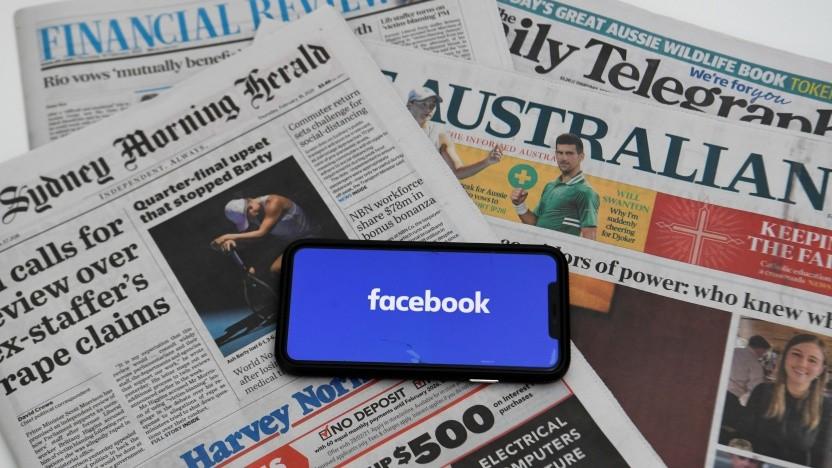 Lässt Facebook die australischen Medien verschwinden?