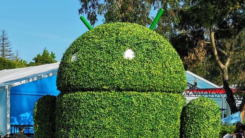 Google hat Android 12 vorgestellt.