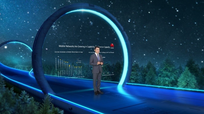Ritchie Peng, President der Huawei 5G Product Line