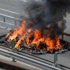 """Feuerwehrverband: Brennende Elektroautos """"in der Regel löschbar"""""""
