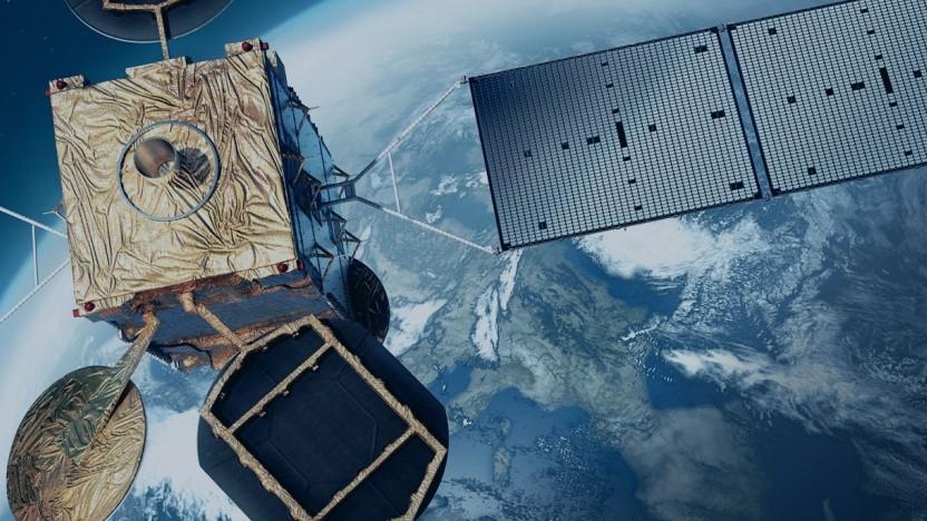 Künftige Satellit von Eutelsat