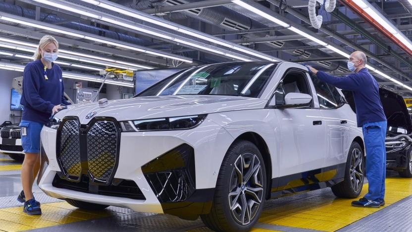 BMW iX: Produktion im Werk Dingolfing