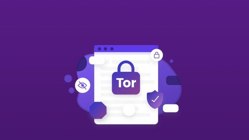 Das Logo des Tor-Modus im Brave-Browser.