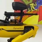 Boston Dynamics: Künstler lassen Paintball-Roboter übers Internet fernsteuern