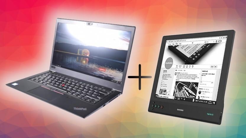 Ein Thinkpad mit E-Paper-Display klingt nach einer guten Idee.