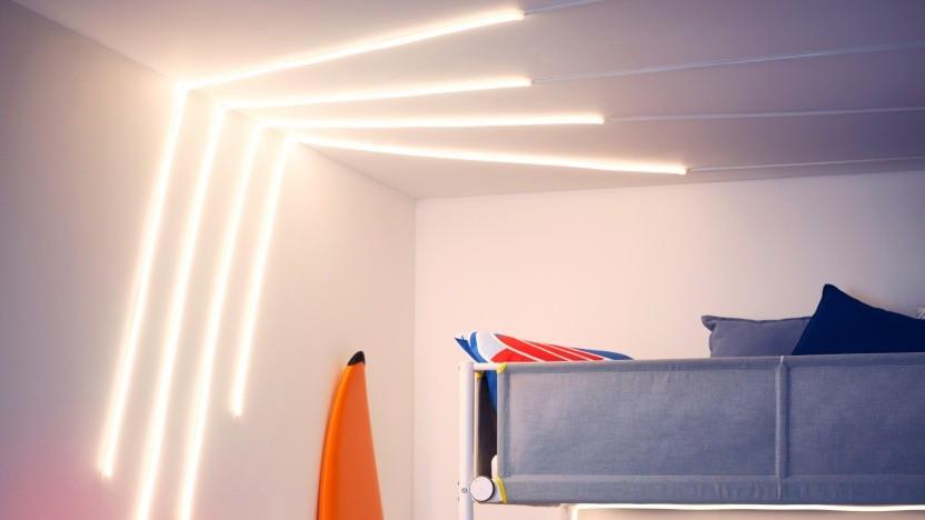 LED-Lichtleiste Myrvarv startet im April 2021.