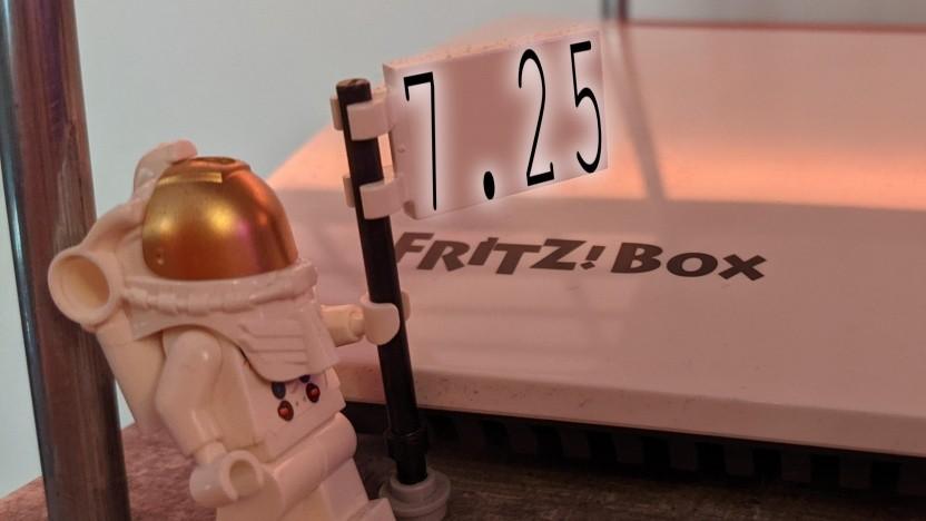 FritzOS 7.25 ist auf der Fritzbox 7590 verfügbar.
