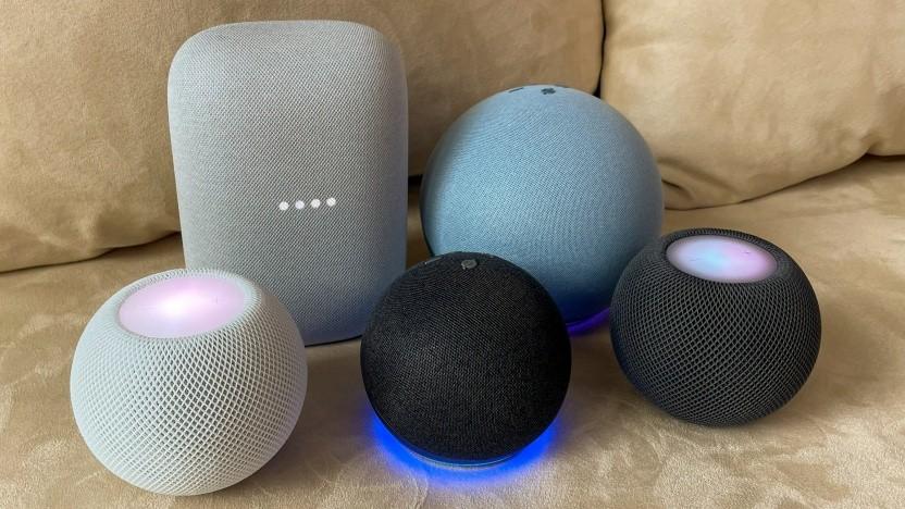 Smarte Lautsprecher werden über Sprachbefehle gesteuert.