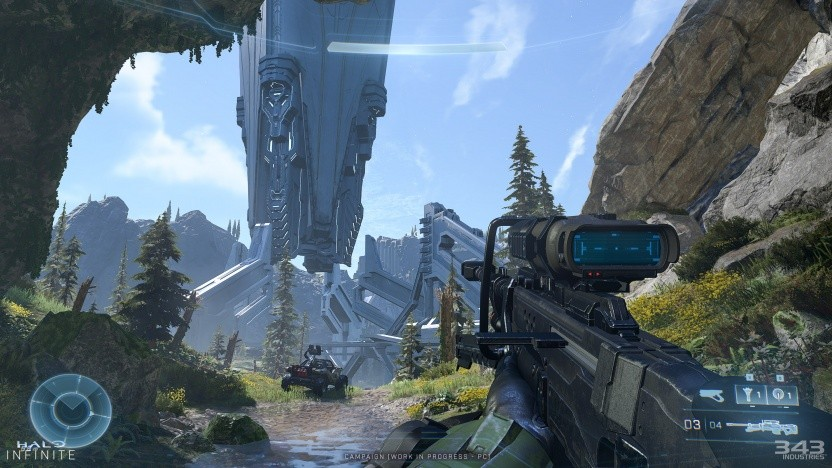 Szene aus Halo Infinite