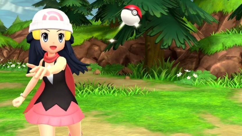 Artwork von Pokémon Strahlender Diamant