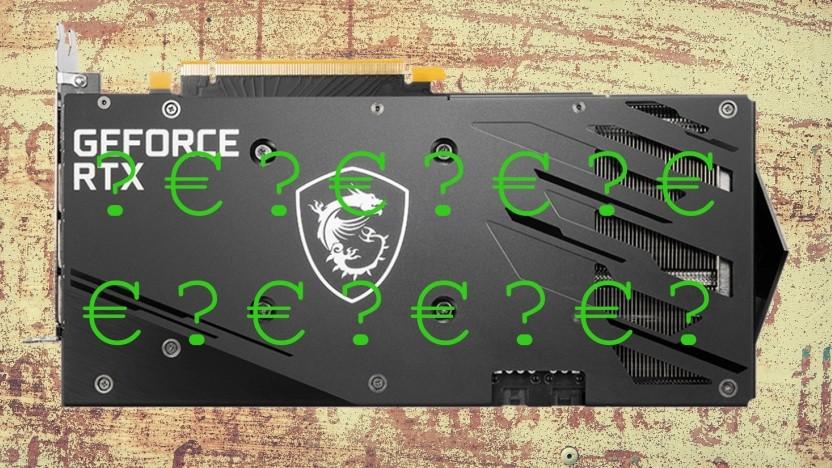 Die Geforce RTX 3060 ist kaum vorhanden.
