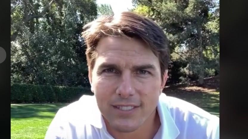 Deeptomcruise nutzt Software, um wie Tom Cruise auszusehen.