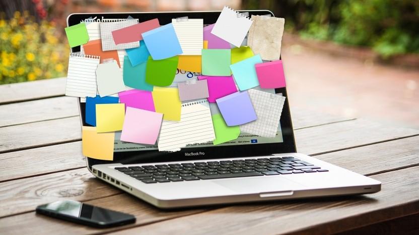 Jeder Zettel ein Ziel? Egal, irgendwann ist eh Schluss mit Schreiben, Taten müssen folgen.
