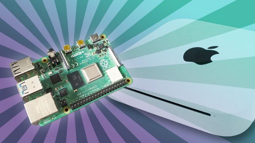Wir haben uns gefragt, ob der Raspberry Pi kann, was ein alter Mac Mini kann.